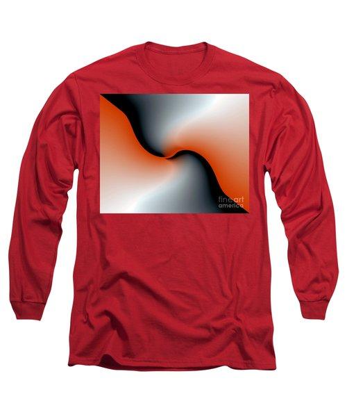 Long Sleeve T-Shirt featuring the digital art 3006 2017 by John Krakora