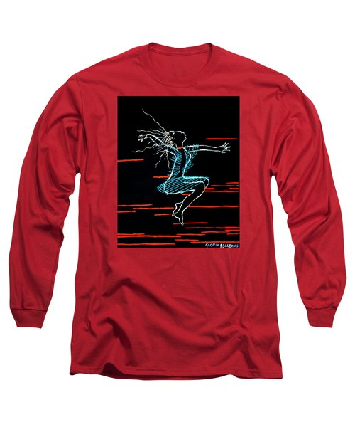 Dinka Dance - South Sudan Long Sleeve T-Shirt