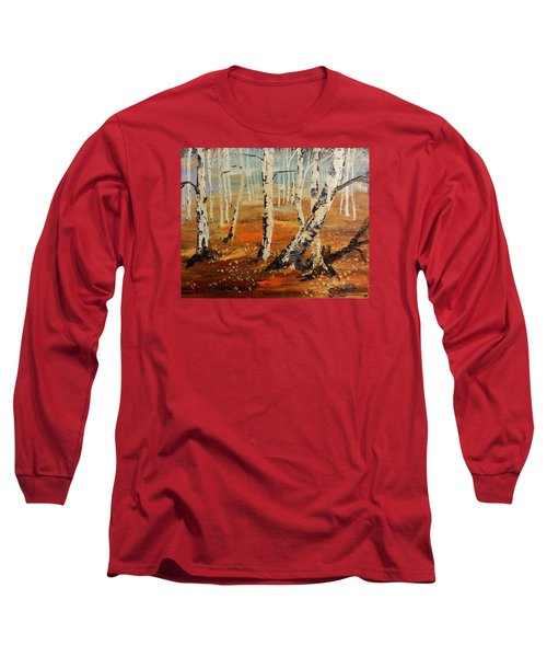 #38 Last Leaves Long Sleeve T-Shirt