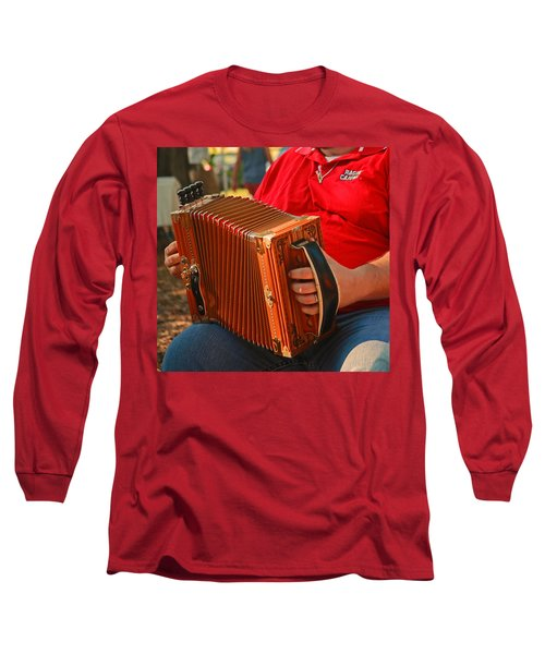 Acordian Long Sleeve T-Shirt by Ronald Olivier