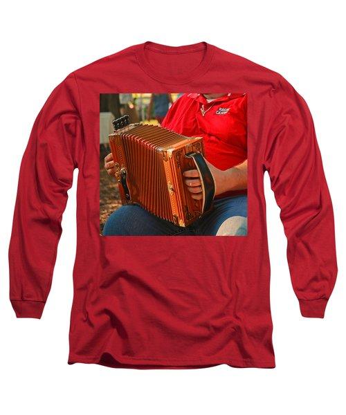 Acordian Long Sleeve T-Shirt