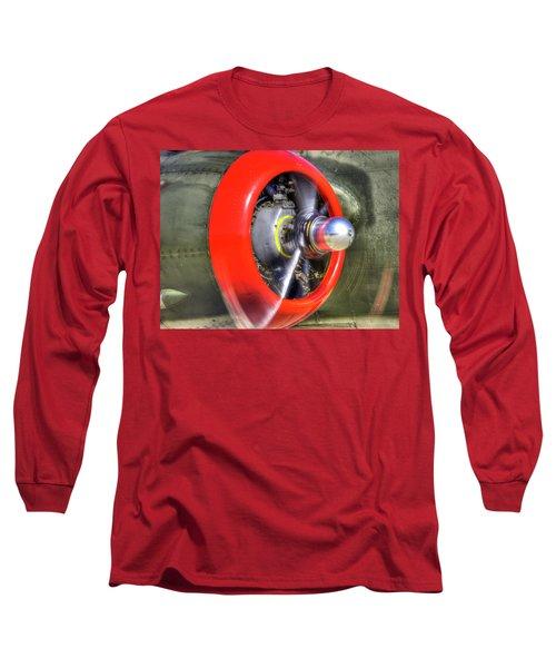 B-25 Long Sleeve T-Shirt by Joe  Palermo