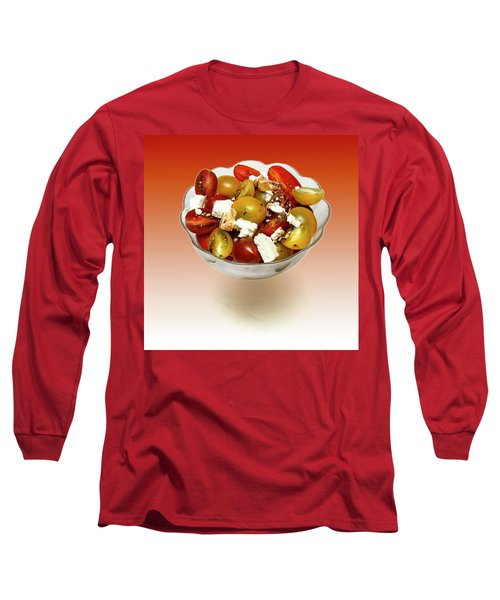 Plum Cherry Tomatoes Long Sleeve T-Shirt