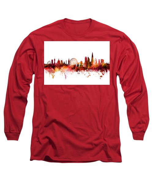 London England Skyline Long Sleeve T-Shirt