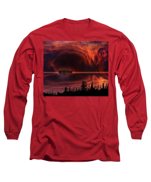 Long Sleeve T-Shirt featuring the photograph 4385 by Peter Holme III