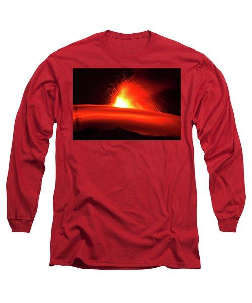 Etna, The Volcano Long Sleeve T-Shirt