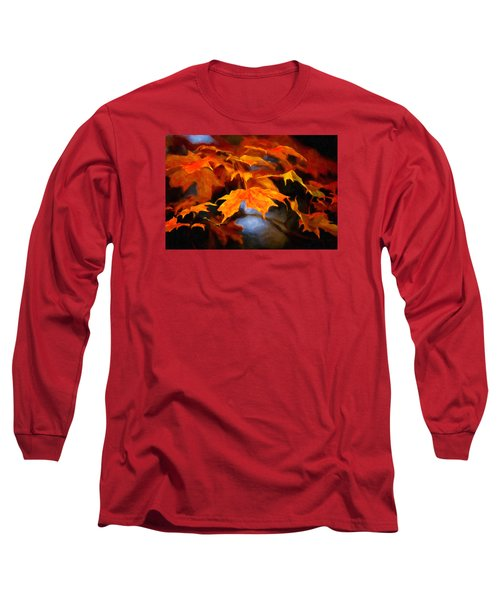 Maple Leaves Long Sleeve T-Shirt