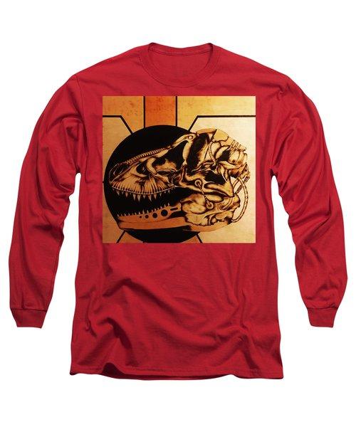 Untitled Long Sleeve T-Shirt by Jeff DOttavio