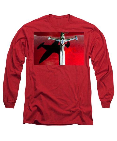 54 Gmc 100 Hood Ornament Long Sleeve T-Shirt