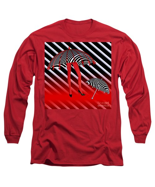Opart -b- Long Sleeve T-Shirt