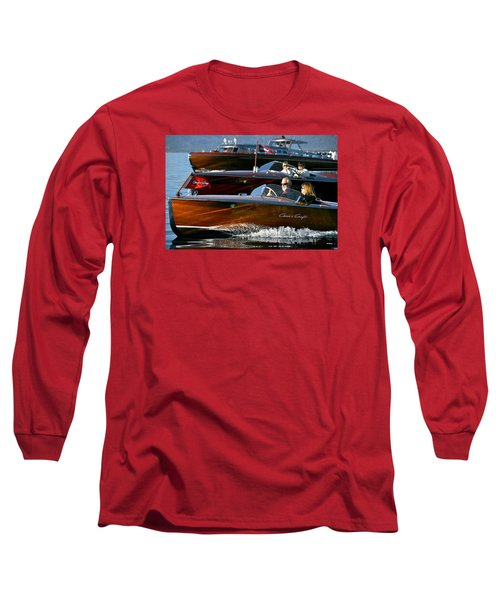 Classic Wooden Runabouts Long Sleeve T-Shirt