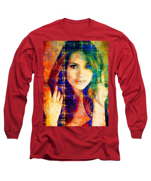 Nina Dobrev Long Sleeve T-Shirt