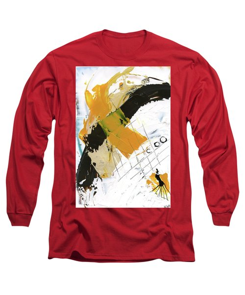 Three Color Palette Long Sleeve T-Shirt by Michal Mitak Mahgerefteh