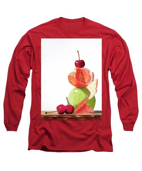 A Balanced Meal Long Sleeve T-Shirt