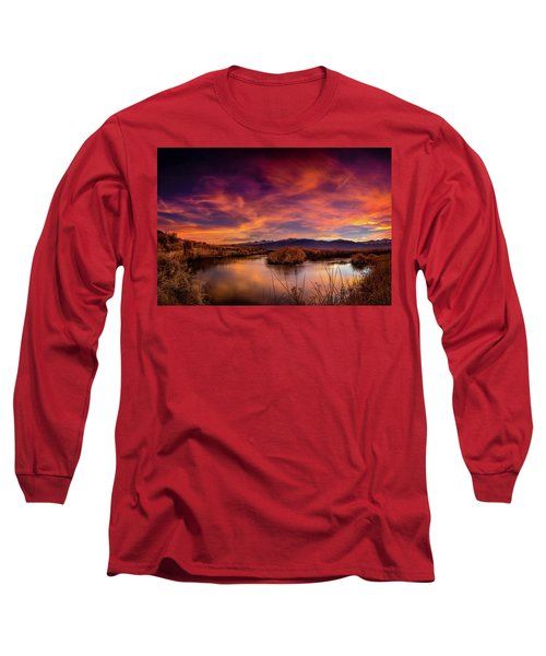 A Bend In The Owens Long Sleeve T-Shirt