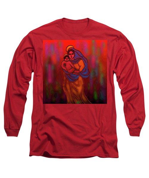 A December Dream Long Sleeve T-Shirt by Latha Gokuldas Panicker