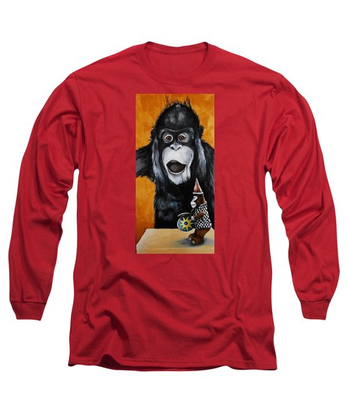 A Different Drummer Long Sleeve T-Shirt by Jean Cormier