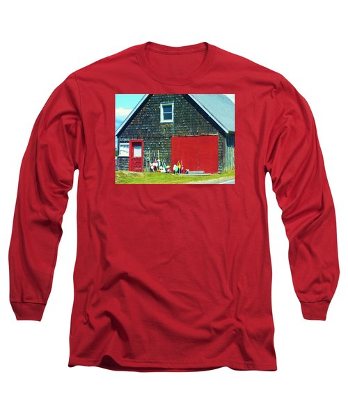 A Fisherman's Barn Long Sleeve T-Shirt