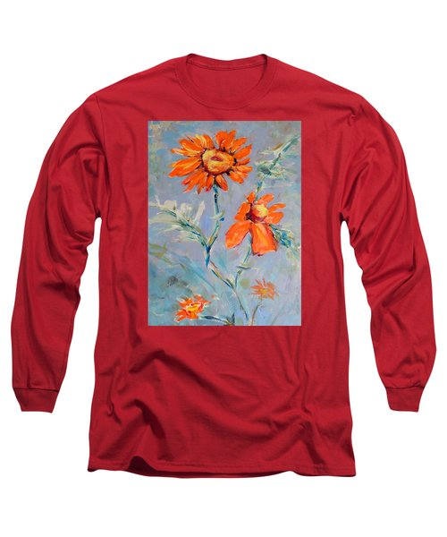 A Glow Long Sleeve T-Shirt by Mary Schiros