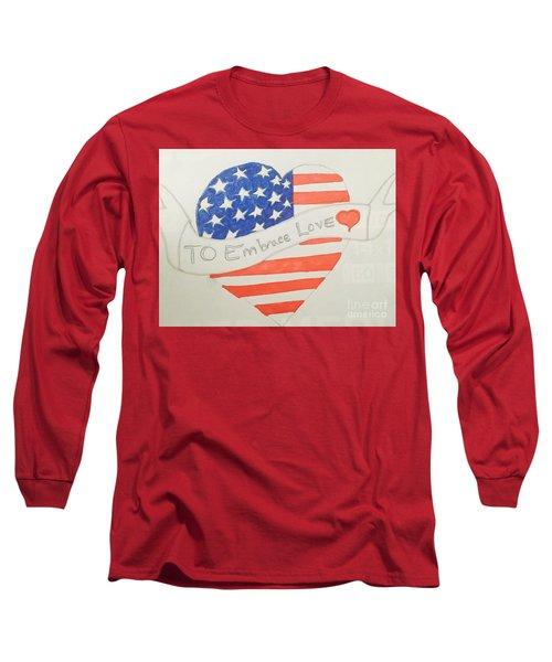 A Heart Of Love  Long Sleeve T-Shirt
