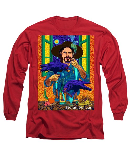 A Life A Of Caw. Portrait Of Stefan Long Sleeve T-Shirt