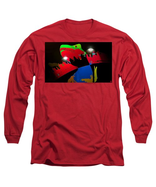 A Monstrously Fun Ride Long Sleeve T-Shirt by David Lee Thompson