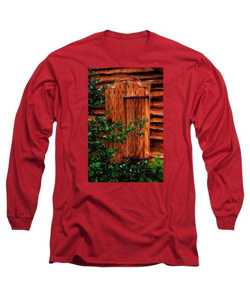 Long Sleeve T-Shirt featuring the photograph A Mystery by Richard Ortolano