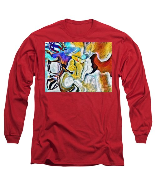 A New Day Coming Long Sleeve T-Shirt by Kathie Chicoine