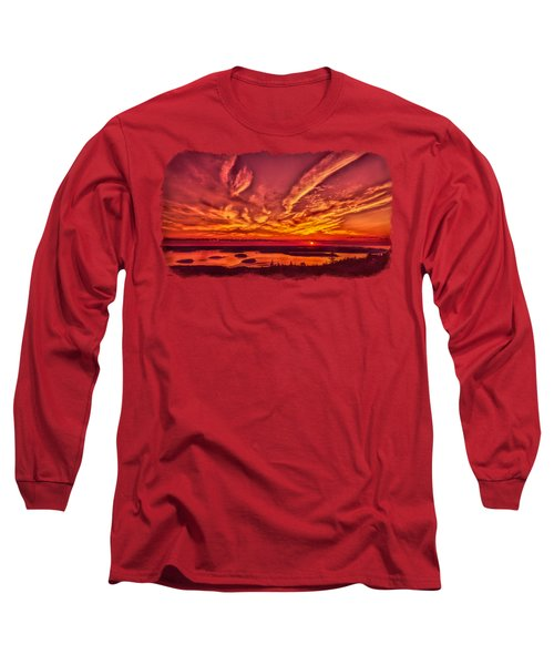 A New Maine Day Long Sleeve T-Shirt by John M Bailey