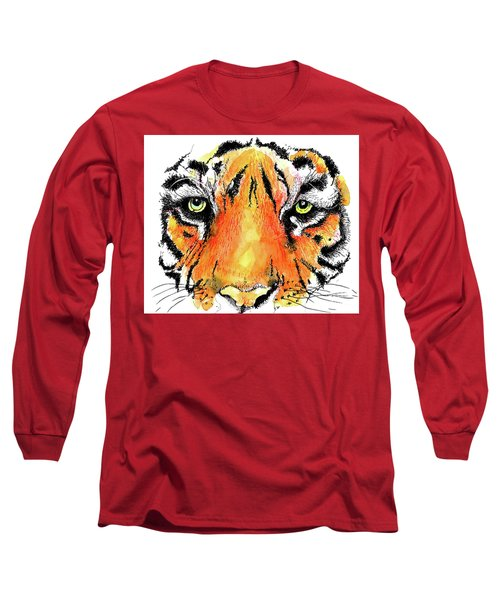A Nice Tiger Long Sleeve T-Shirt