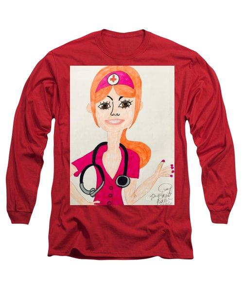 A Nurse  Long Sleeve T-Shirt