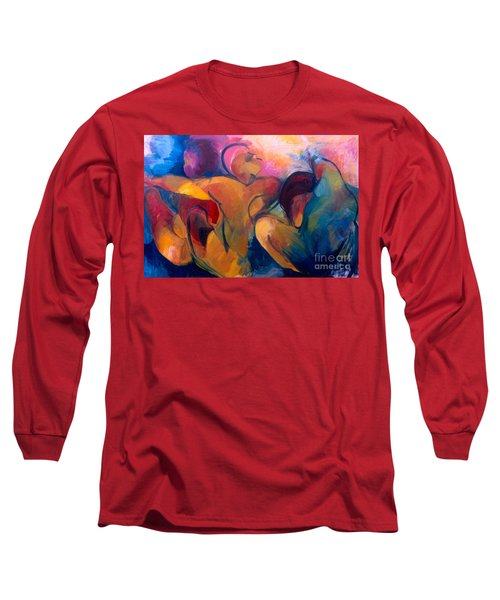 A Passion To Be Raised Long Sleeve T-Shirt by Daun Soden-Greene
