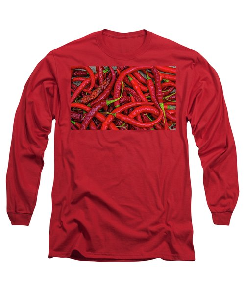 A Peck Of Unpickled Peppers Long Sleeve T-Shirt