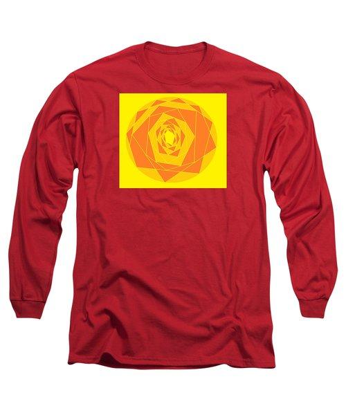 A Rose By Any Other Name 1 Long Sleeve T-Shirt by Linda Velasquez