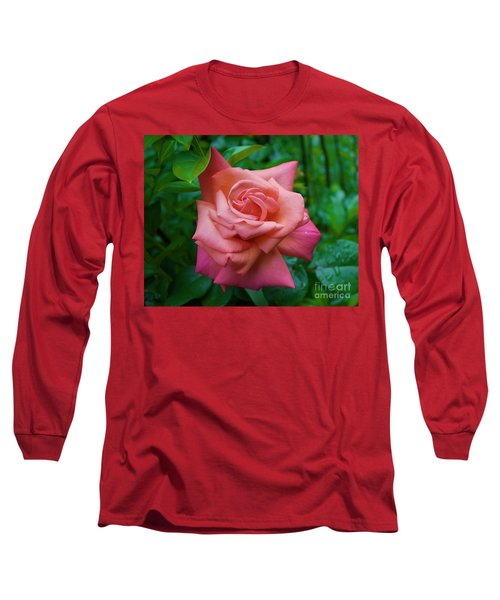 A Rose In Spring Long Sleeve T-Shirt