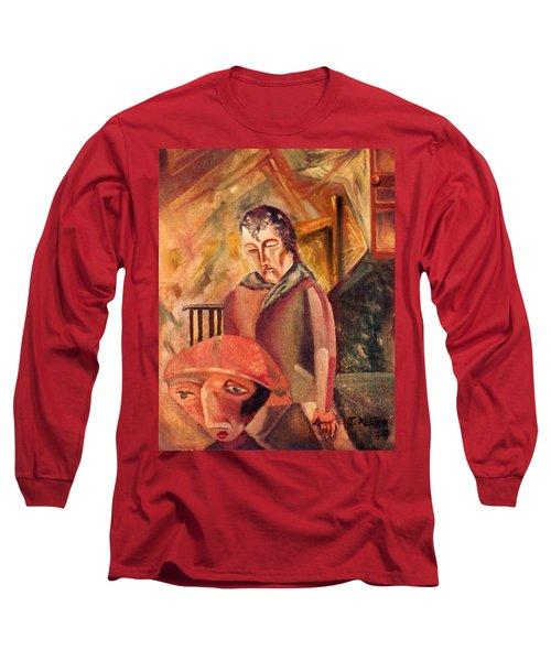 A Sad Way To Say Goodbye Long Sleeve T-Shirt by John Keaton