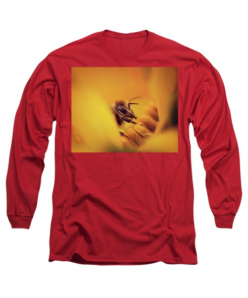 A Sea Of Yellow Long Sleeve T-Shirt