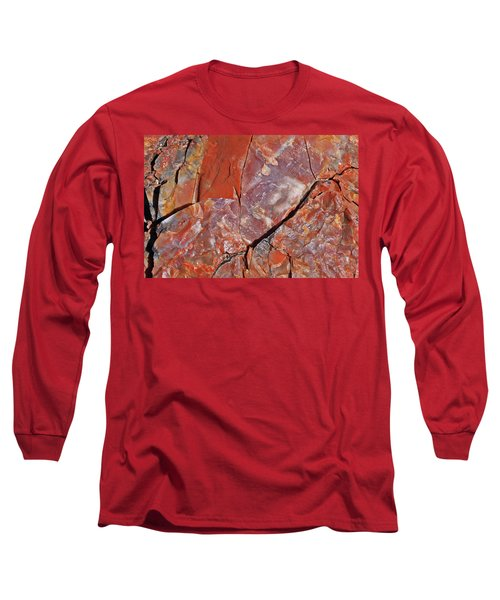 A Slice Of Time Long Sleeve T-Shirt by Gary Kaylor