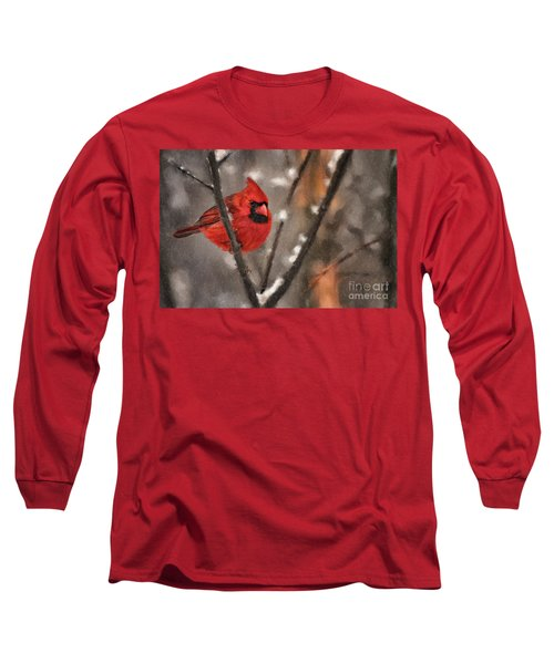 A Spot Of Color Long Sleeve T-Shirt