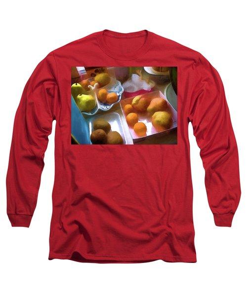 A Still Life # 25 Long Sleeve T-Shirt by Vladimir Kholostykh