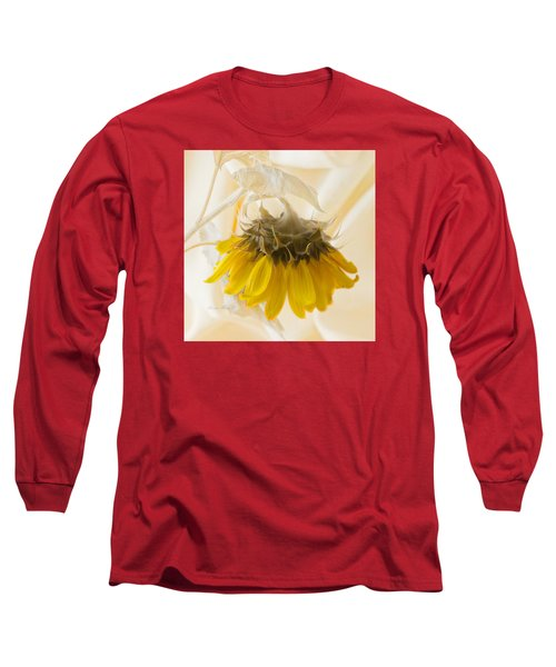 A Suspended Sunflower Long Sleeve T-Shirt