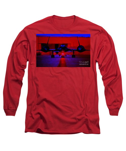 Long Sleeve T-Shirt featuring the photograph A Very Fast Taxi by Greg Moores