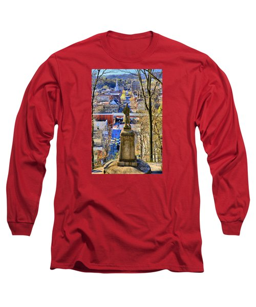 A View From College Hill Long Sleeve T-Shirt