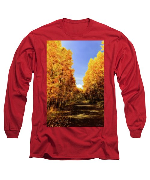 A Walk Down Memory Lane Long Sleeve T-Shirt by Rick Furmanek