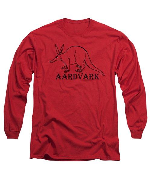 Aardvark Long Sleeve T-Shirt by Sarah Greenwell