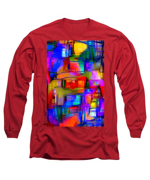 Abstract 1293 Long Sleeve T-Shirt
