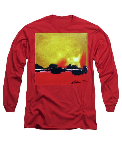 Abstract 201207 Long Sleeve T-Shirt