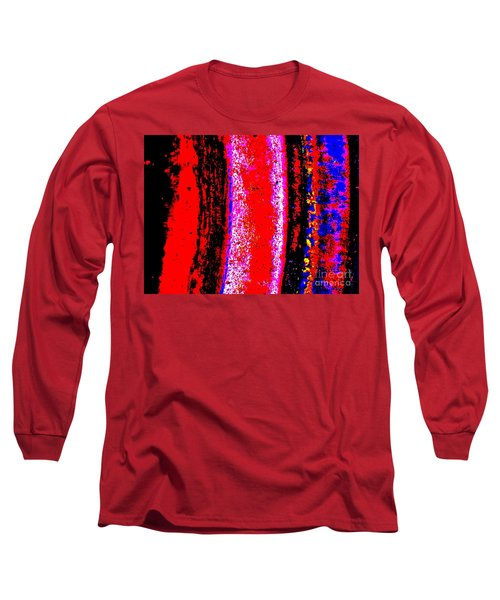 Abstract  Abstraction Long Sleeve T-Shirt by Tim Townsend