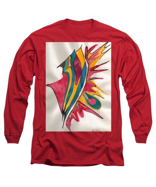 Abstract Art 102 Long Sleeve T-Shirt