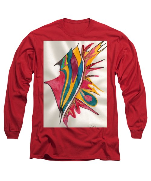 Abstract Art 102 Long Sleeve T-Shirt